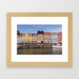 Nyhavn Canal, Copenhagen Framed Art Print