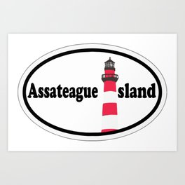 Assateague Island - Maryland. Art Print