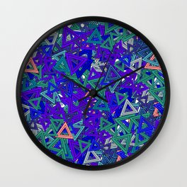 love for triangle Wall Clock