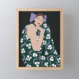 Thoughtful Framed Mini Art Print