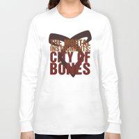 the mortal instruments Long Sleeve T-shirts featuring The Mortal Instruments: City of Bones by thespngames