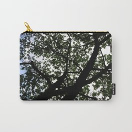 Looking up into the Kapok tree Carry-All Pouch