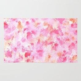 Pinky Cream Splatter Rug