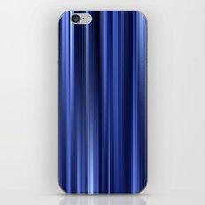 blue lines IV iPhone & iPod Skin