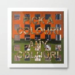 Postmodernism 07b Metal Print