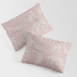 LEOPARD BLOCK PARTY - PINK Pillow Sham