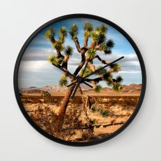 Desert Beauty Wall Clock