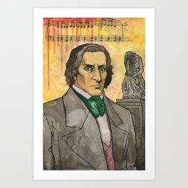 Frederic Chopin Art Print