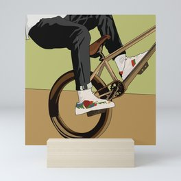 Biking Mini Art Print