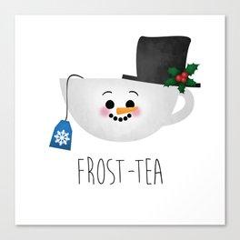 Frost-tea Canvas Print