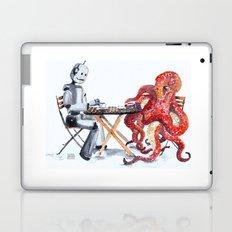 Robot Octopus Coffee Date Laptop & iPad Skin
