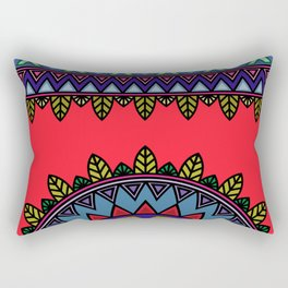 dp058-3 Ethnic mandala Rectangular Pillow