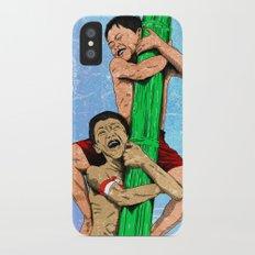 Panjat Pinang iPhone X Slim Case