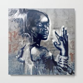 Ale Bonjo / Sámara-Uganda Orphans Collaboration Metal Print