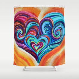 Intertwined Souls Shower Curtain