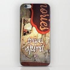 Travel Spirit #2 iPhone & iPod Skin