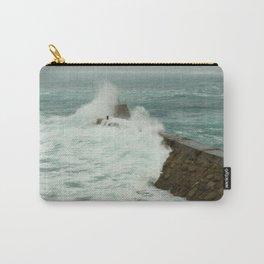 Sennen cove breakwater Carry-All Pouch