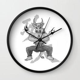 KungFu Zodiac - Rat and Ox Wall Clock
