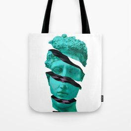 Aesthetic Vaporwave Statue. Sliced Greek Statue Design Gift product Tote Bag