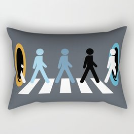 Keep Walking Rectangular Pillow