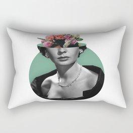 Jean simmons Floral Rectangular Pillow