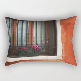 A Window in Italy Rectangular Pillow