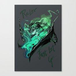 League of Legends- Thresh fanart Canvas Print