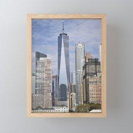 Tall Riverfront Framed Mini Art Print