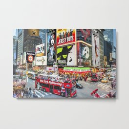 Times Square II Special Edition II Metal Print