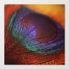 I Spy with a Peacock Eye Canvas Print