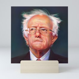 Bernie Sanders 46th President of the United States || UNOFFICIAL PRESIDENTIAL PORTRAIT PAINTING Mini Art Print