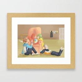 Sports Moms Framed Art Print