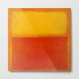 1956 Orange and Yellow by Mark Rothko HD Metal Print