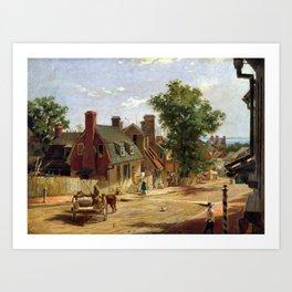 Francis Blackwell Mayer Old Annapolis, Francis Art Print