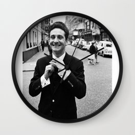 Lonnie Donegan - music poster Wall Clock