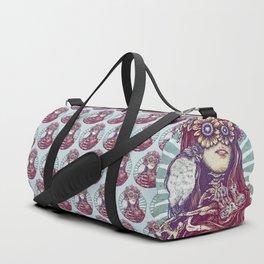 Birds Nest Hair Duffle Bag