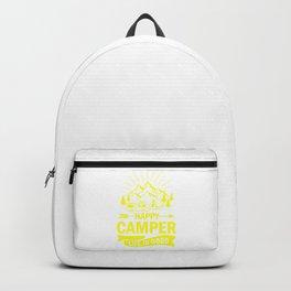 Happy Camper Life Is Good ye Backpack