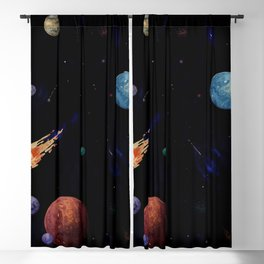 planets Blackout Curtain