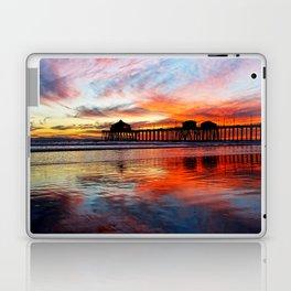 Huntington Beach Sunset    11/8/13 Laptop & iPad Skin