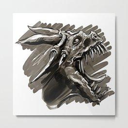 Tyrant Metal Print