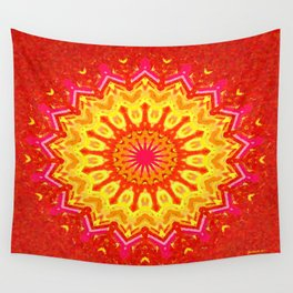 Symmetric composition 22 Wall Tapestry