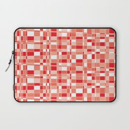 Mod Gingham - Red Laptop Sleeve