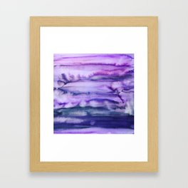 Power Purple Framed Art Print