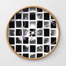 Star Cluster Wall Clock