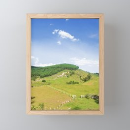 Mountain Framed Mini Art Print