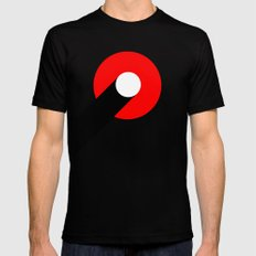SPEED X-LARGE Black Mens Fitted Tee