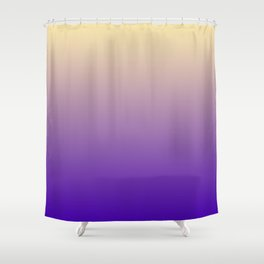 Gradient background purple Shower Curtain