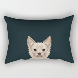 Tanner - Yorkshire Terrier gifts and gifts for dog person and dog people gift ideas Rectangular Pillow