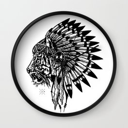Chief of Pride  Wall Clock