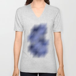 Cool Cube Abstract Optical Illusion - Watercolor Digital Artwork Unisex V-Neck